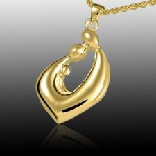 Relationship Teardrop Cremation Pendant IV