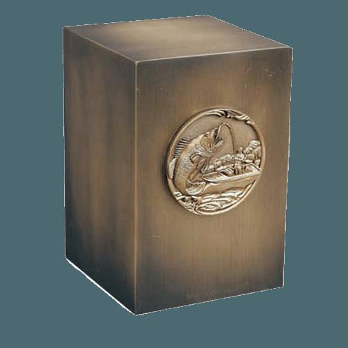 Relic Bucketmouth Bronze Urn