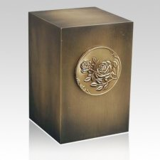 Relic Rose Bronze Urn