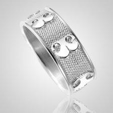 Pet Heirloom Ring Print Sterling Silver Keepsakes