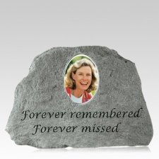 Remembered Me Forever Keepsake Rock