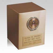 Remembrance Army Cremation Urn