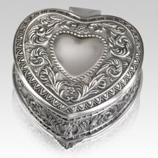 Remembrance Heart Keepsake Box