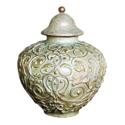 Renaissance Bronze Pet Cremation Urn
