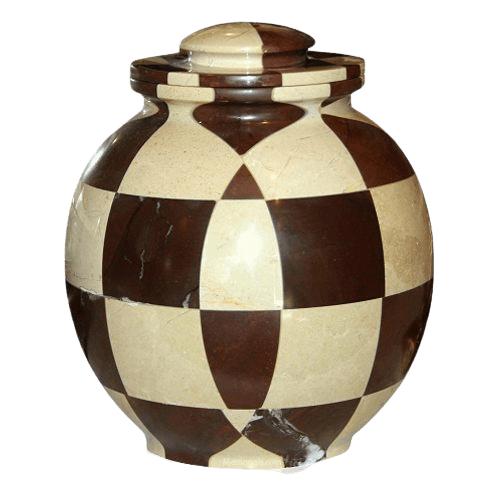 Renaissance Marble Cremation Urn