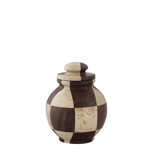 Renaissance Marble Keepsake Urn