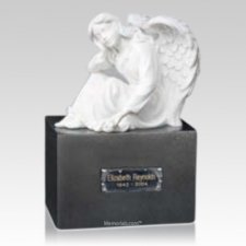 Resting Angel Religious Urn