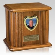Retrato Wood Cremation Urn