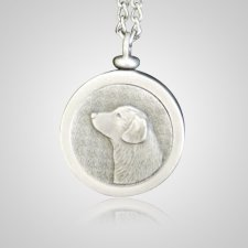 Retriever Pet Memory Keychain