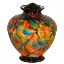 Revelry Glass Cremation Urn
