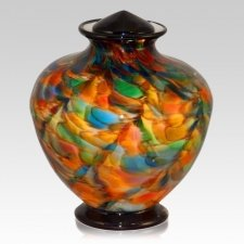 Revelry Glass Cremation Urn