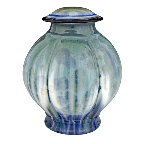 Bahama Blue Cremation Urn
