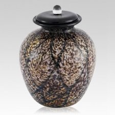 Rhapsody Glass Cremation Urn