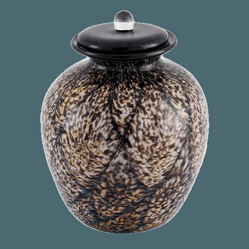 Rhapsody Glass Cremation Urn