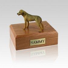 Rhodesian Ridgeback Standing Medium Dog Urn