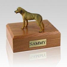 Rhodesian Ridgeback Standing Dog Urns