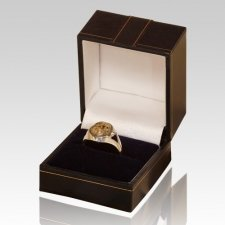 Cremation Ash Signet Ring II