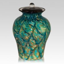 River Glass Cremation Urn