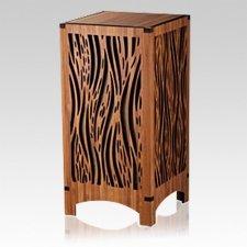 Riverbank Bamboo Wood Cremation Urn