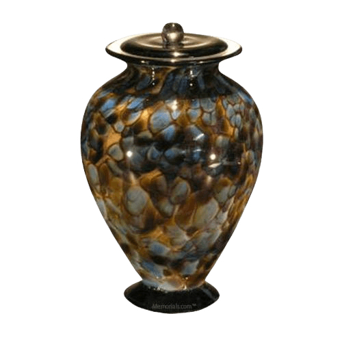 Riverstone Glass Cremation Urn