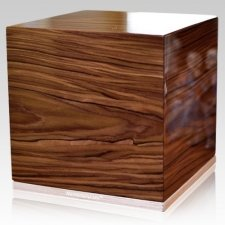 Roots Wood Cremation Urn