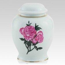 Rosa Ceramic Cremation Urn