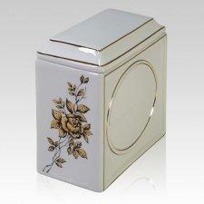 Rosaline Porcelain Cremation Urn