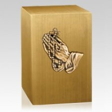 Rosary Bronze Cremation Urn