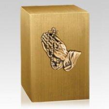 Rosary Bronze Cremation Urn