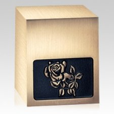 Rose Bronze Cremation Urn