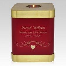 Rose Candle Cremation Urn