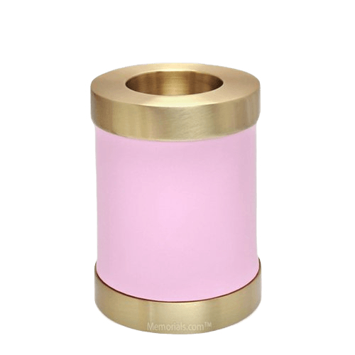 Rose Child Candle Small Cremation Urn