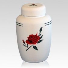 Rose Cornstarch Biodegradable Urn