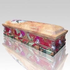Rose Flower Casket