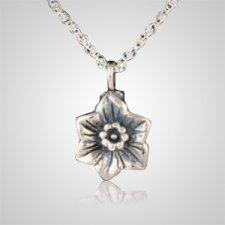 Rose Flower Keepsake Pendant