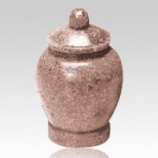 Rose Jar Cultured Granite Pet Cremation Urn