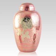 Rose Keepsake Cremation Urn