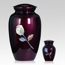 Rose Metal Cremation Urns