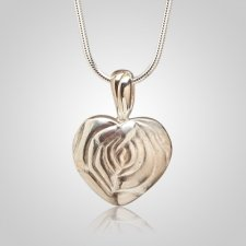 Rose Nature Keepsake Pendant