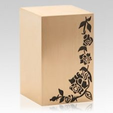 Rosevine Bronze Cremation Urn