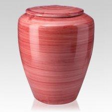 Rosso Ceramic Cremation Urns