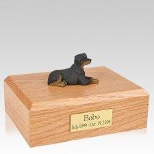 Rottweiler Resting X Large Dog Urn