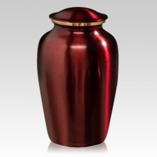 Rouge Metal Cremation Urns