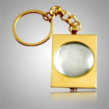 Round Bubble Keychain Keepsake II