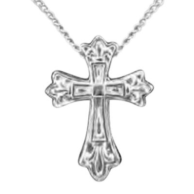 Royal Cross Keepsake Pendant