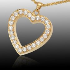 Royal Heart Cremation Pendant II