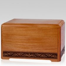 Royalty Wood Cremation Urn