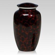 Ruby Rain Metal Cremation Urns