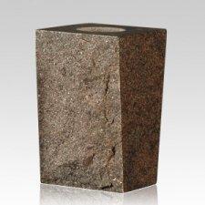 Mystic Blue Rustic Granite Vase