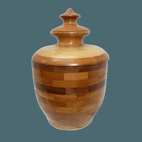 Rustico Wood Cremation Urn